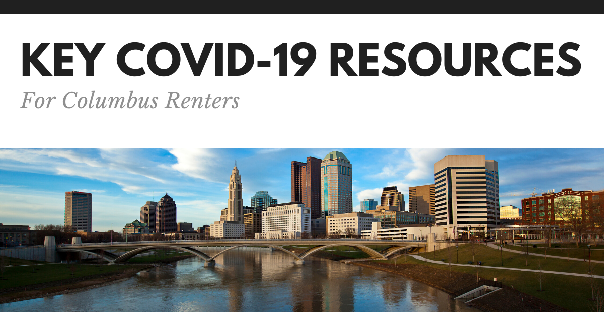 Key Resources for Columbus Renters Amongst COVID-19 Outbreak
