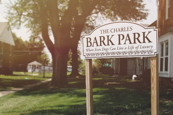 apartment complex with dog park | the charles at bexley